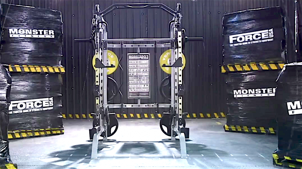 Force Power Rack Multi Gym
