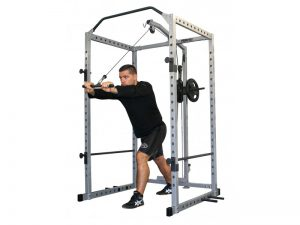 Power Rack with Cable